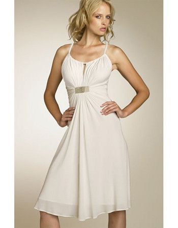 Beach casual wedding dresses short