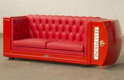 Un sofá diferente!