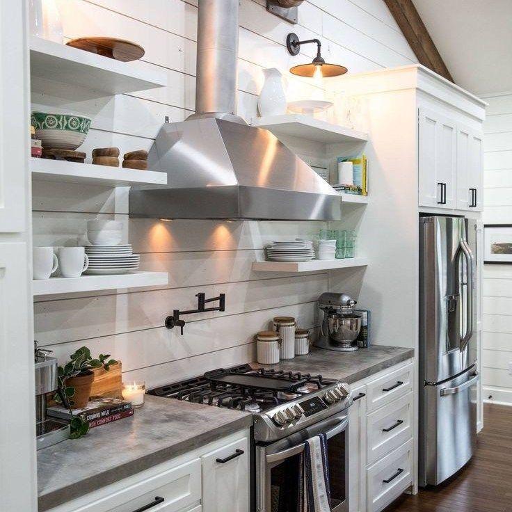 36 the ultimate modern farmhouse kitchen joanna gaines cabinets trick homek white on farmhouse kitchen joanna gaines design id=19139