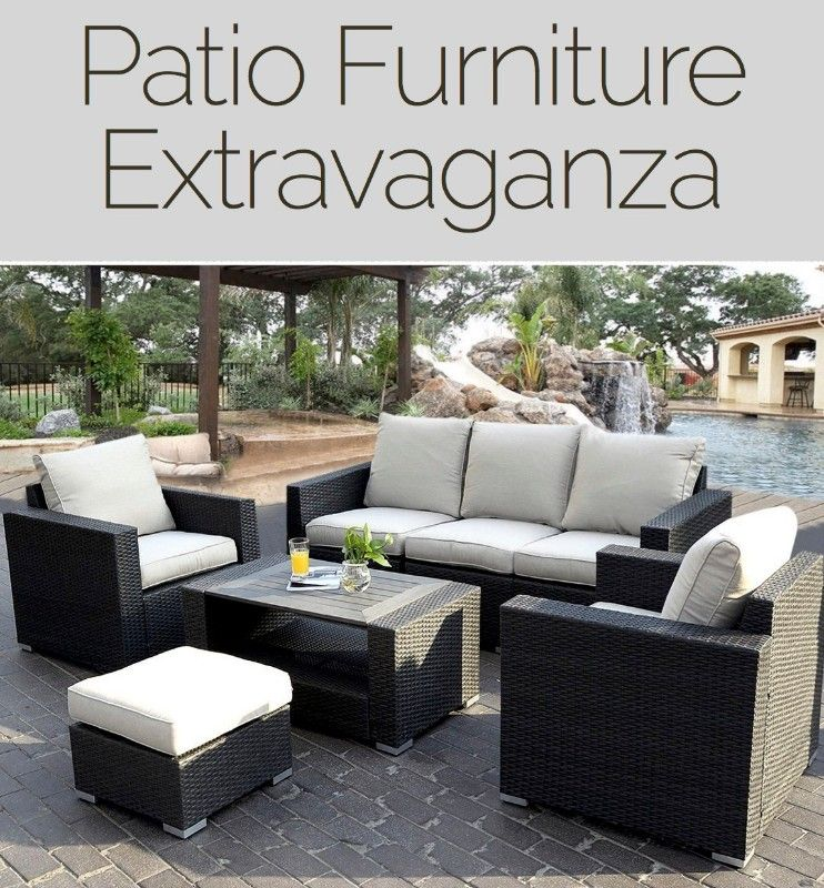 Patio Furniture Extravaganza Cheap Patio Furniture Sectional