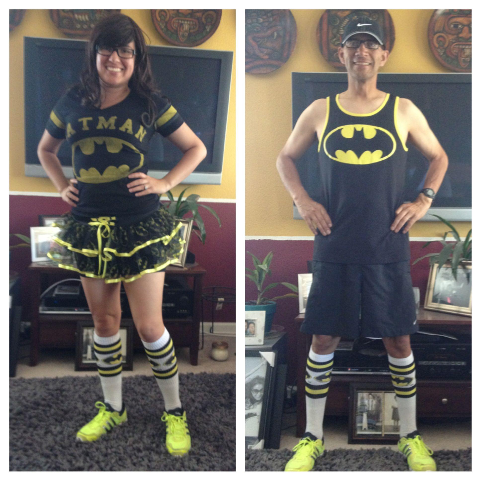 Batman running outfits