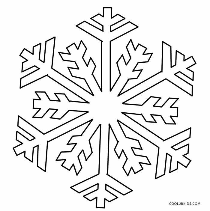 Printable Snowflake Coloring Pages For Kids | Cool2bKids | coloring ...