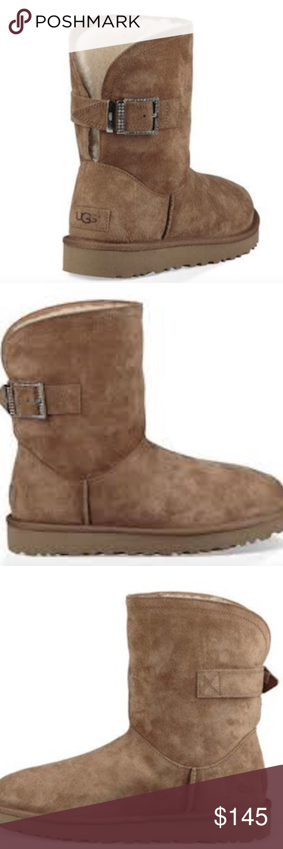 3ae88320ecc NWT UGG Australia Remora Buckle Boots AUTHENTIC / NEW WITH TAGS ...