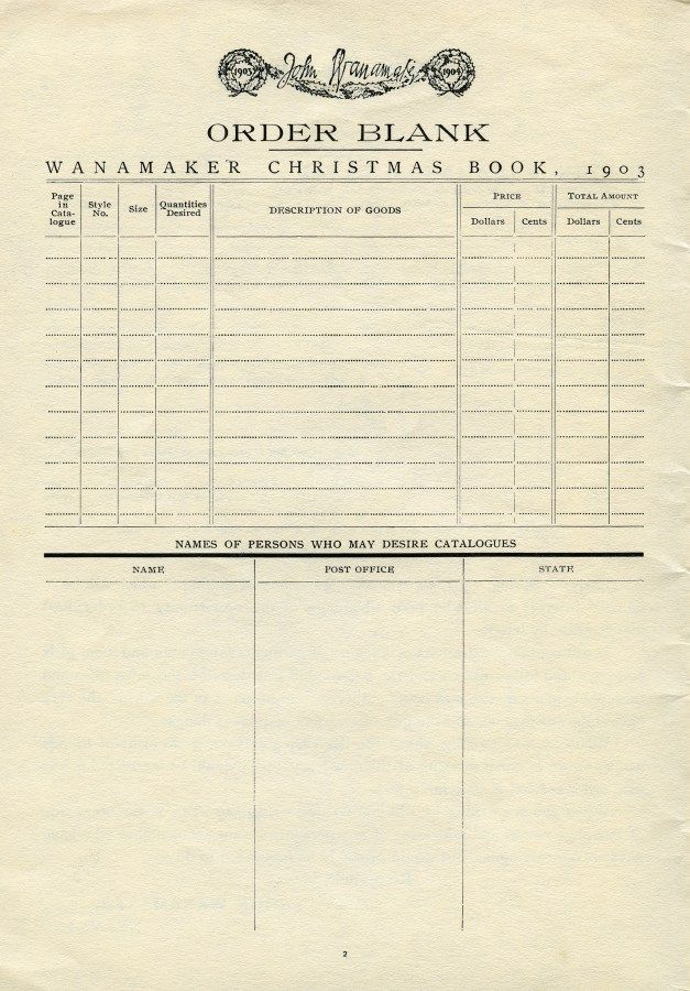 vintage ephemera, antique catalogue order form, old paper graphics - paper order form