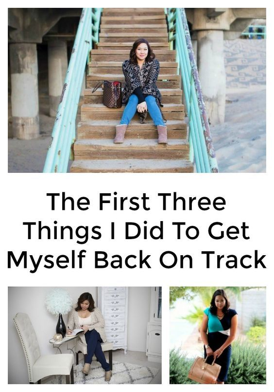 The first 3 things I did to get myself back on track after I felt like I hit rock bottom.