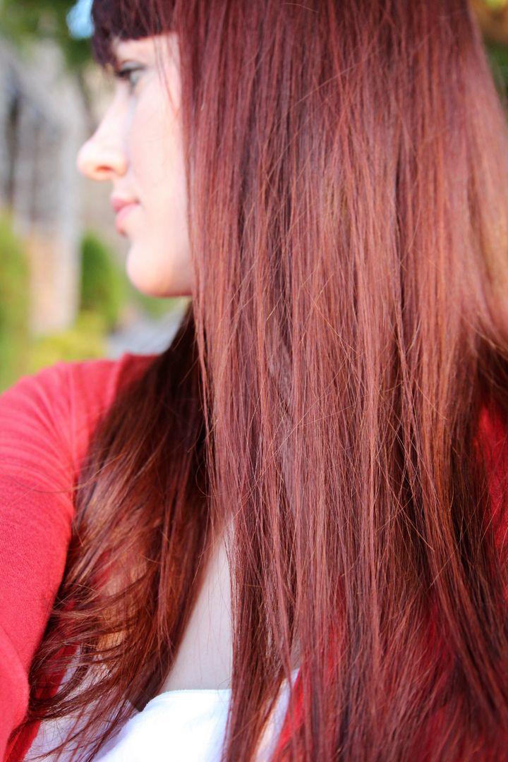 Henna Hair Dye Tutorial DIY for Medium Brown Hair Before and After  Hair  Hair, Henna hair