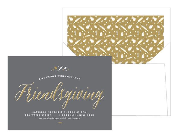 Free Download    Friendsgiving Invitations    A Bar Cart in - invitation designs free download