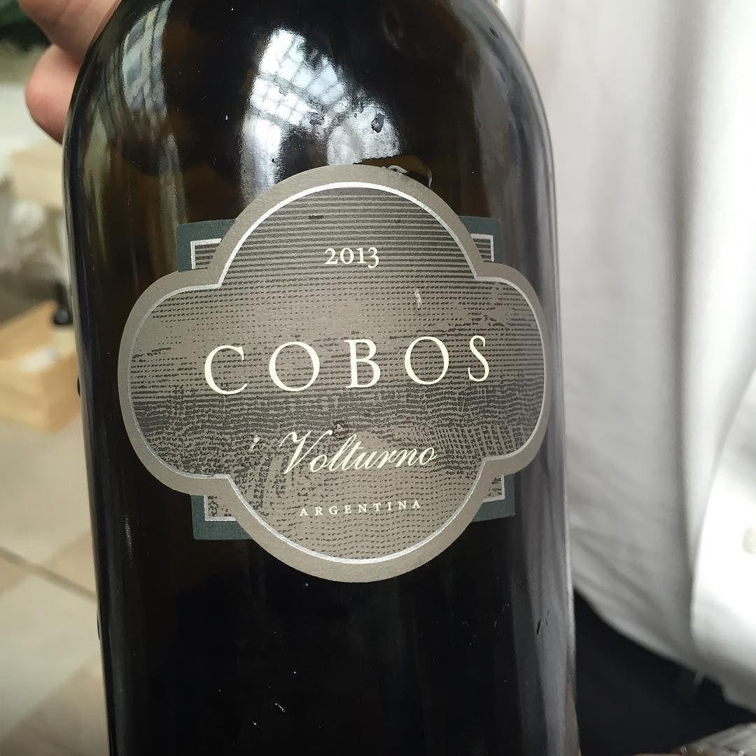 Y si de privilegio hablamos... #vino #volturno #Malbec
