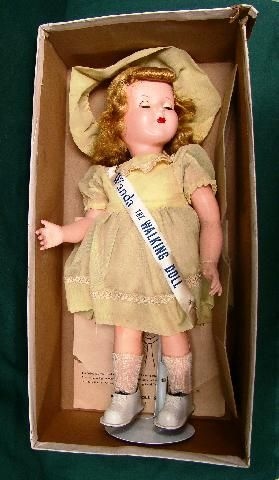 Circa 1950 S Quot Wanda The Walking Doll Quot Manufactured By