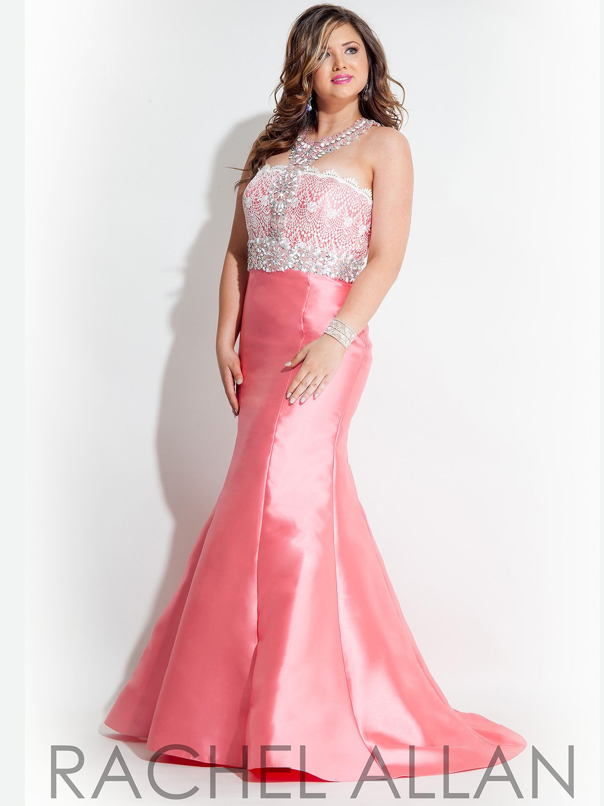 This Stunning Rachel Allan Plus Size Prom Dress Is Truly An Unique
