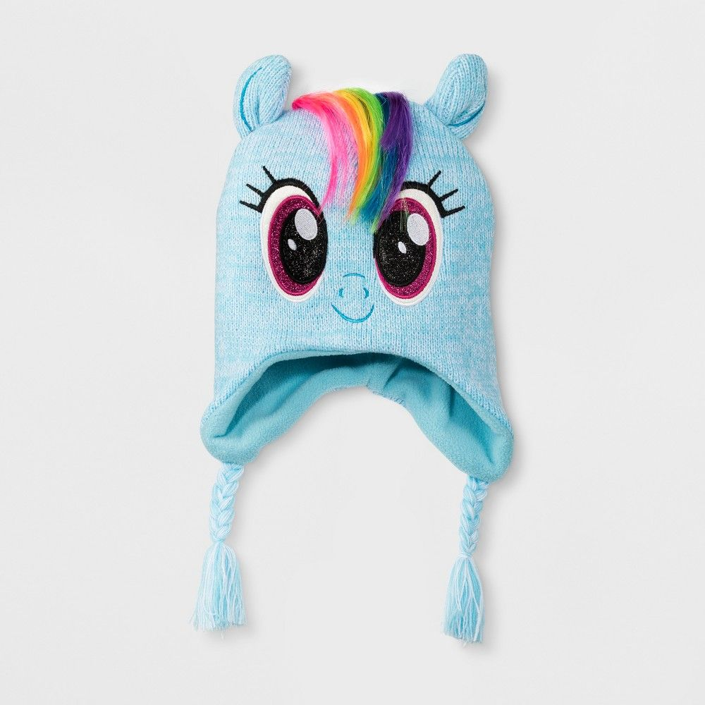 Hasbro My Little Pony Squeeze and Flap Fun Cold Weather Hat 4-7 Little Girls
