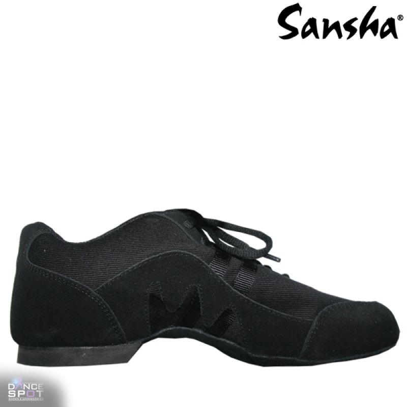 Dancespot Intermezzio Jazz And Modern Practise Shoes Black Sneaker All Black Sneakers Shoes