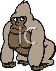 Cartoon Gorilla Recherche Google Cartoon Monkey Cartoon Animals