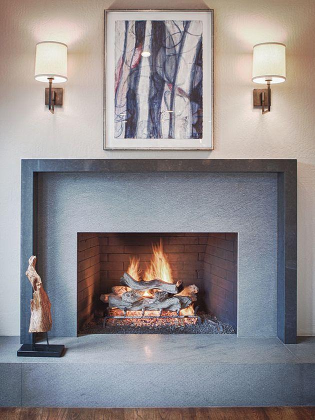Ultra Chic Fireplace Inspiration Fireplace Mantels