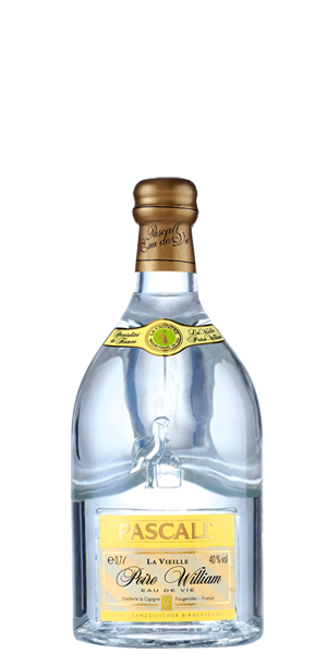 Pascall La Vieille Poire William is made from aged, hand-picked pears. A very tempting, crisp and full aroma of pears and all that jazz. Find it in Vive le France tasting pack.