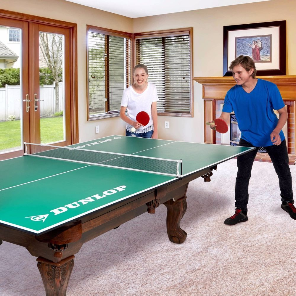 Conversion Top Ping Pong Table Portable Folding 4Piece