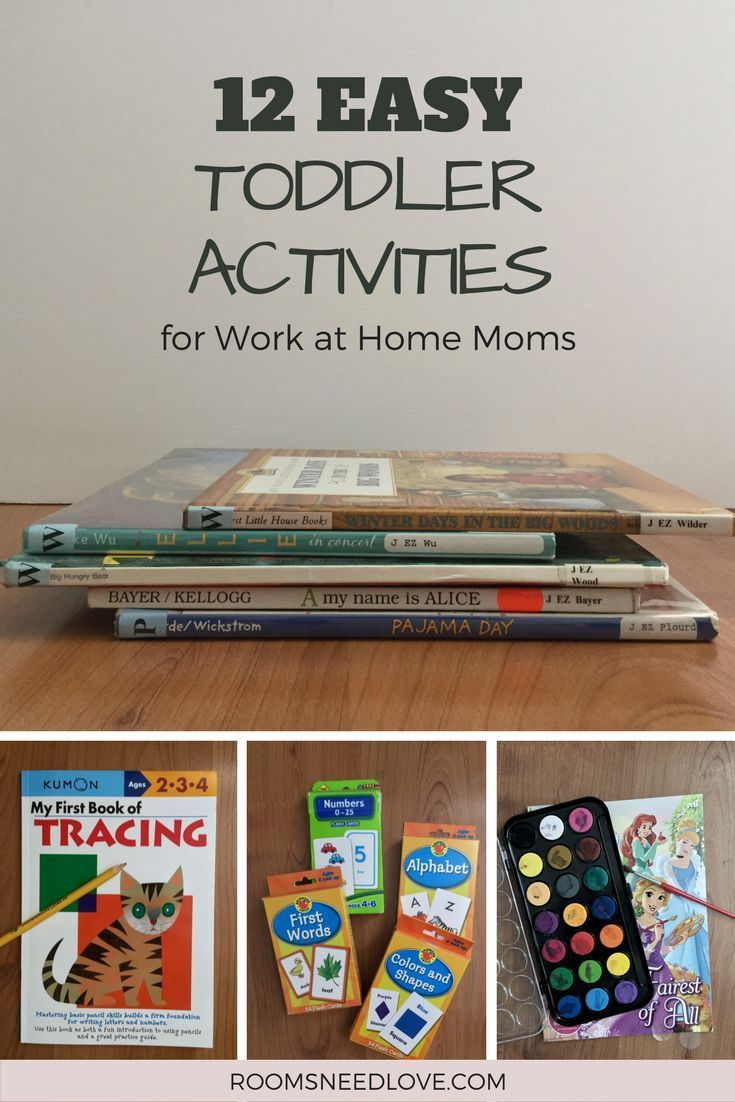 Photo of Easy Toddler Activities for Work at Home Moms – Rooms Need Love