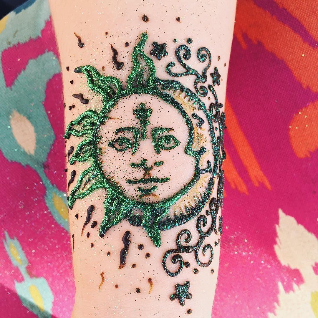 Henna Moon And Sun By Art With Anndell Saf16 Mehndi Hennaartist