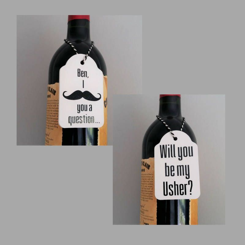 Wedding Gifts For Ushers And Best Man: Groomsman Proposal, Best Man Proposal, Usher Proposal