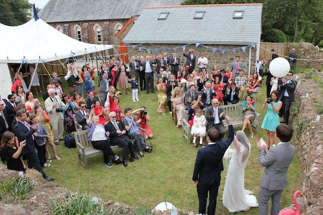 Quirky Diy Cornish Village Hall Wedding