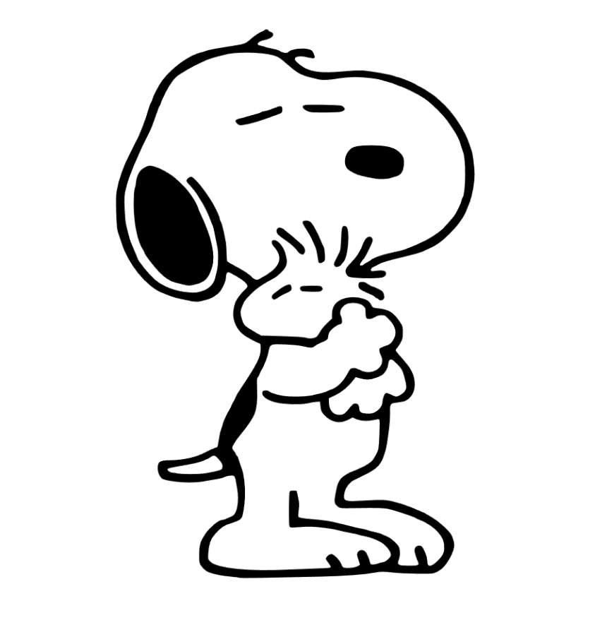 snoopy woodstock - Snoopy Coloring Pages
