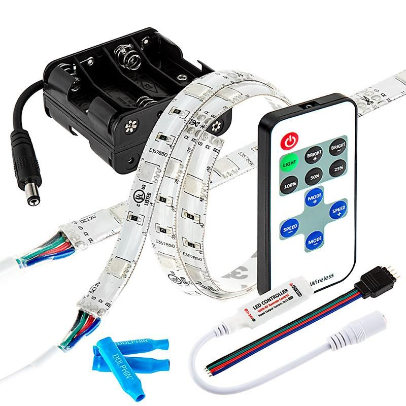 LED Color Changing Light DIY Kit With Remote Control