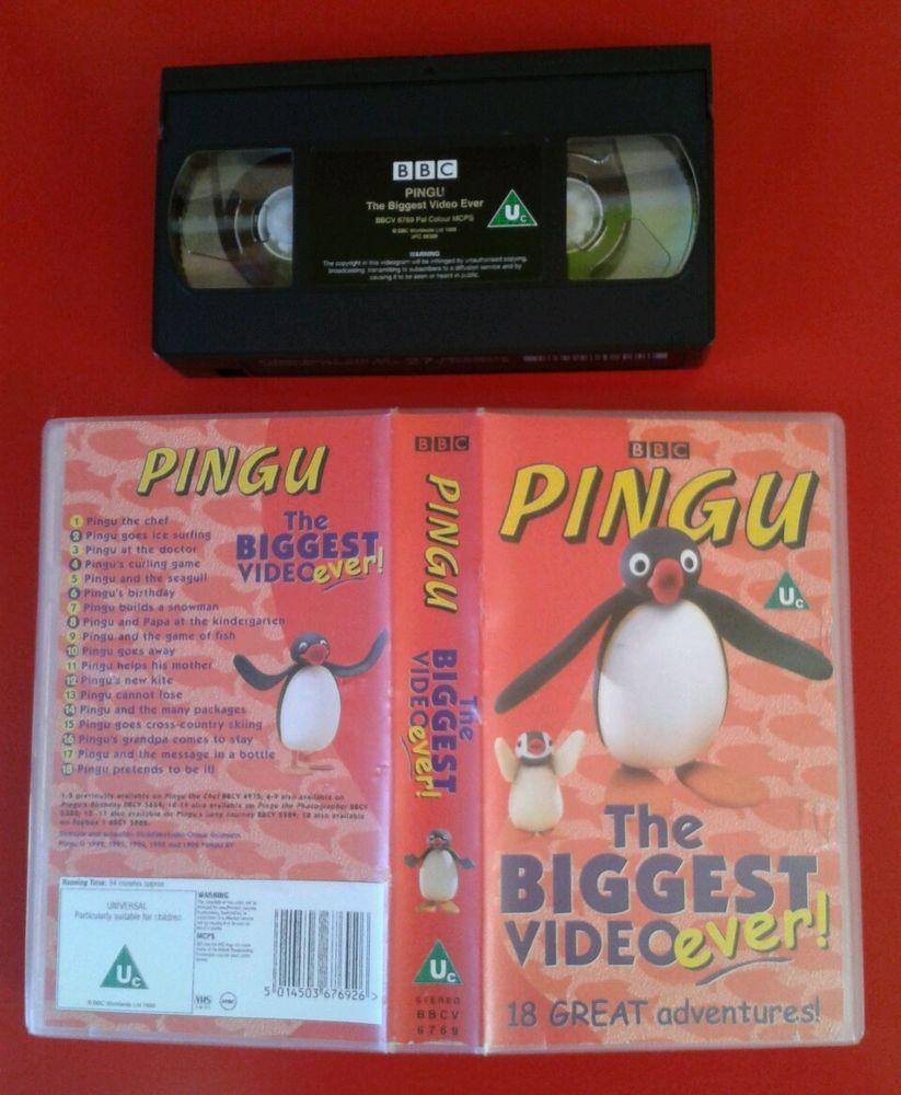 PINGU : The BIGGEST VIDEO EVER : 18 EPISODES / 94 MINS PAL