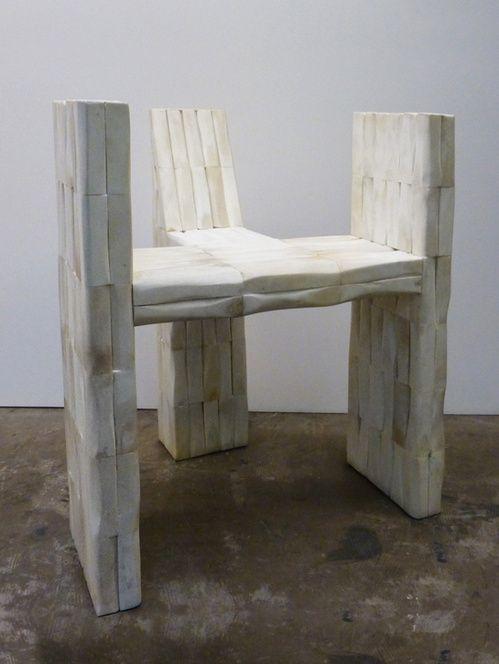 Furniture Design Exhibition London prehistoric: rick owen's design exhibition comes to london