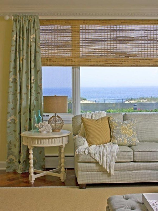 Wohnzimmer Maritim Flair Beistelltisch Pastellgrün Gelb ... Wohnzimmer Maritim Einrichten