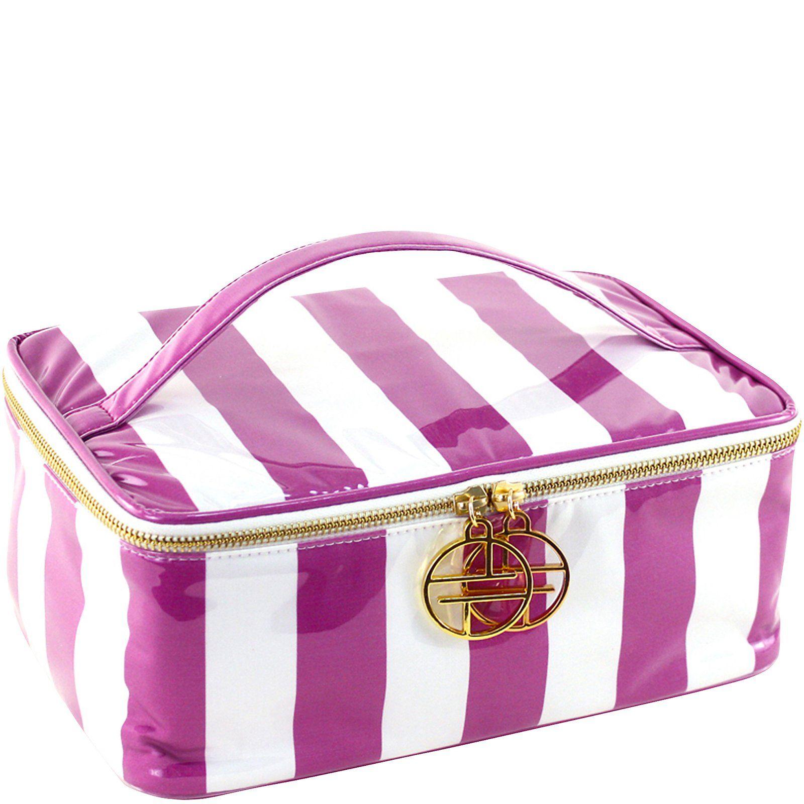 Trina Cosmetic Bags Travel Accessories Essential Train Case 3