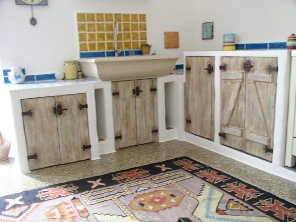 Gonaria - arredi per cucine in abete invecchiato | kitchen ...
