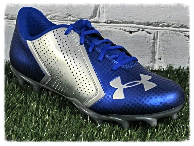 under armour men's blur phantom mc low football cleats