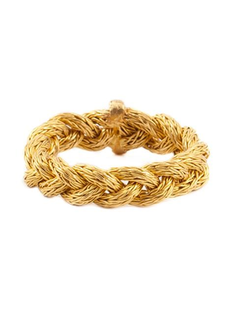 Shop Marie Helene De Taillac braided ring in Capitol from the world's best independent boutiques at farfetch.com. Shop 300 boutiques at one address.