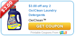 3 00 Off Any 2 Oxiclean Laundry Detergents Laundry