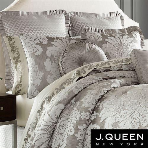 Chandelier Damask Comforter Set By J Queen New York Comforters