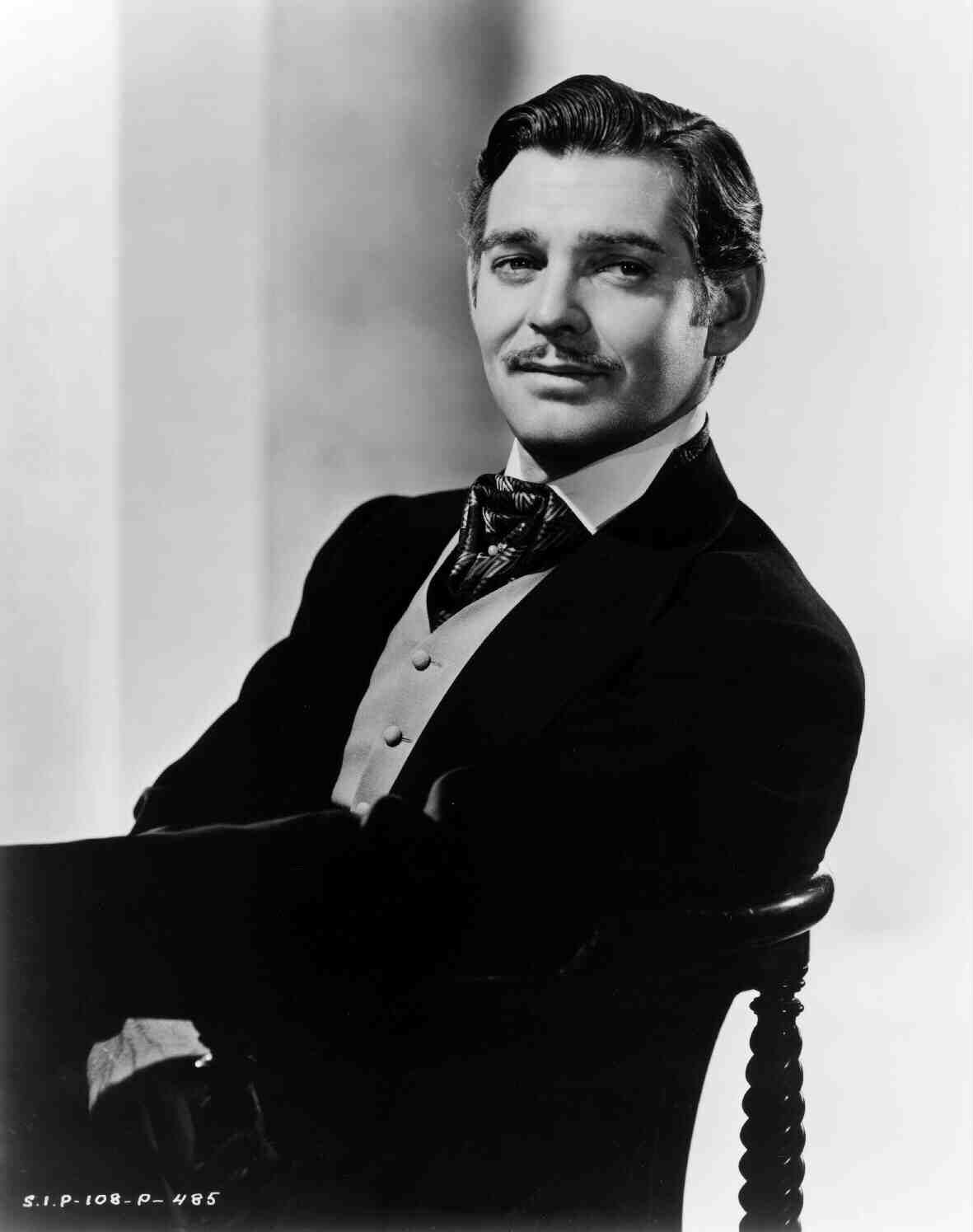 Clark Gable in Gone with the Wind (1939)