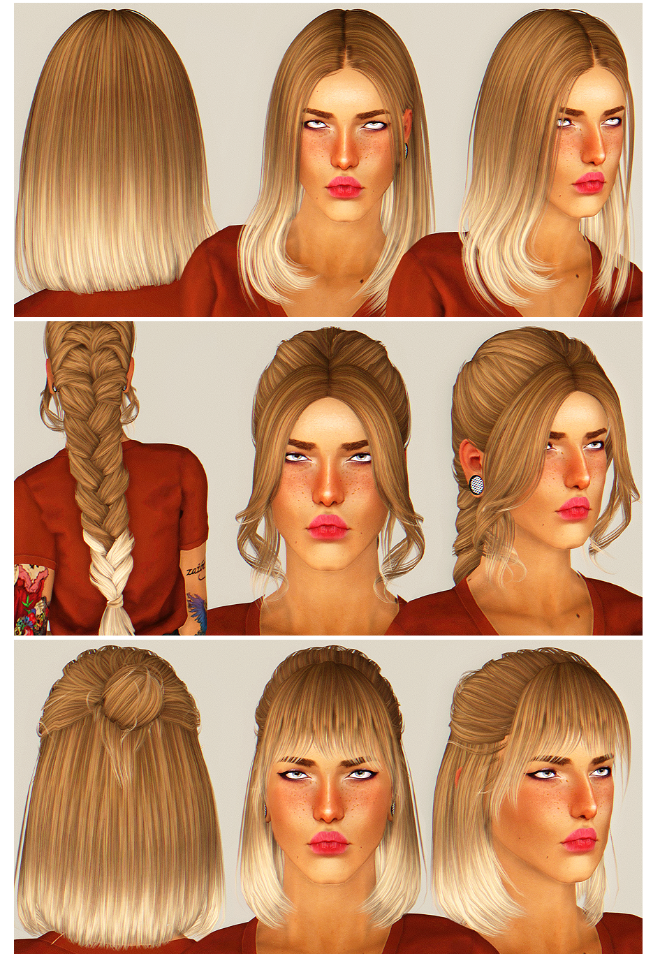 Its Always Sunny In Westeros The Sims 3 Cc Hair Pinterest Sims