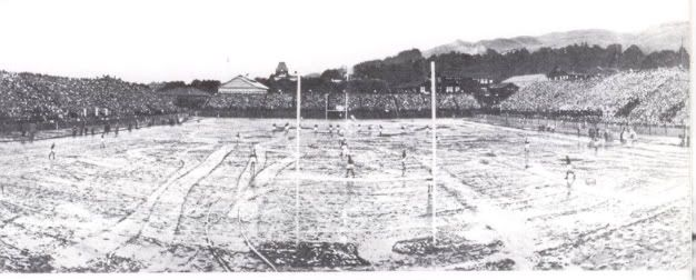 California Field during the famously muddy 1912 Big Game