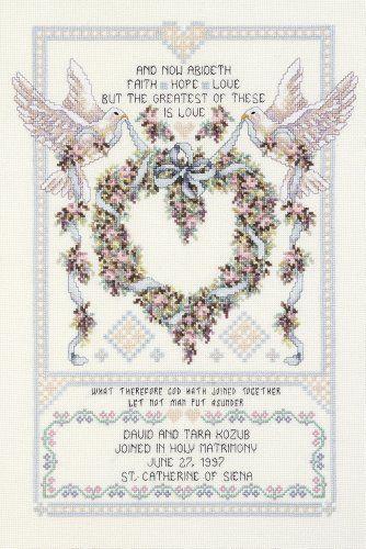 janlynn platinum collection wedding doves cross stitch world