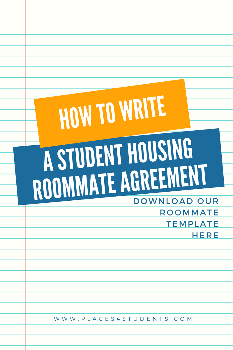 Moving In With A Roommate Use Our Roommate Agreement Template To - Housing contract template
