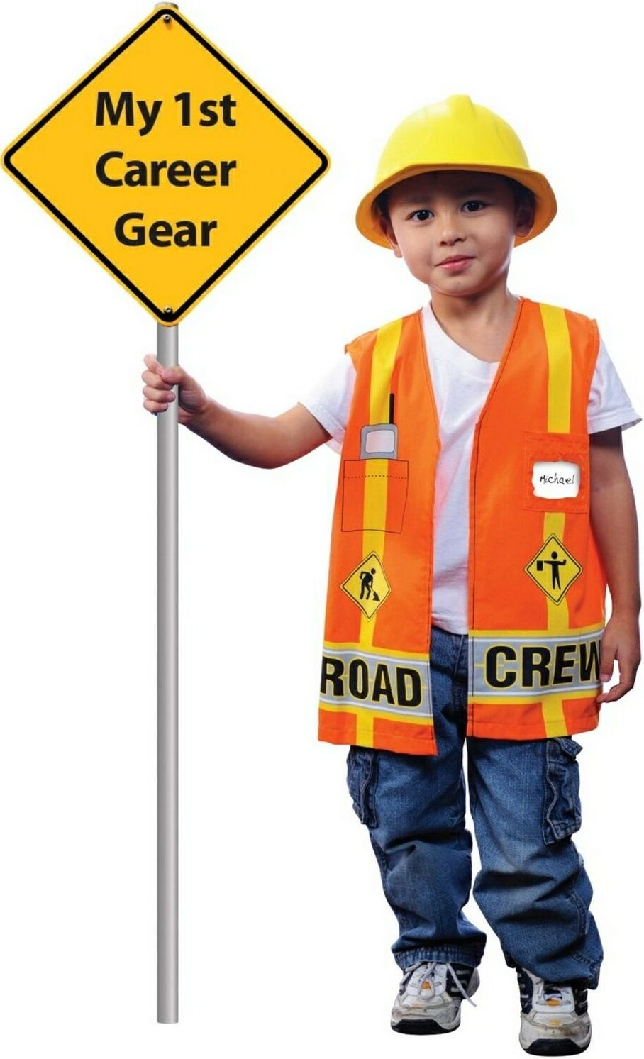 Construction Worker Costume  Dramatic Play