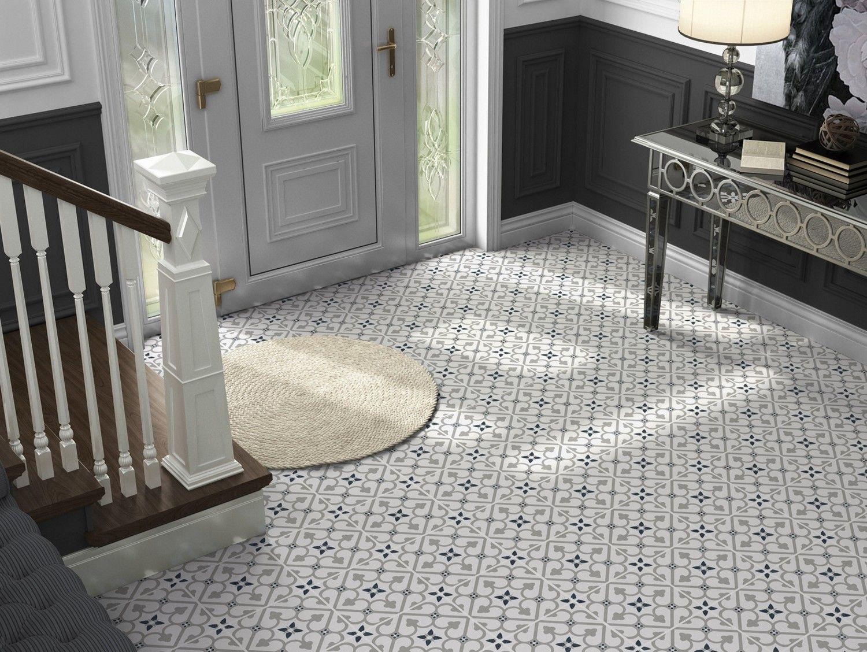 Brighton Grey Pattern Porcelain Floor Tiles In 2020 Porcelain Flooring Tile Floor Tiled Hallway
