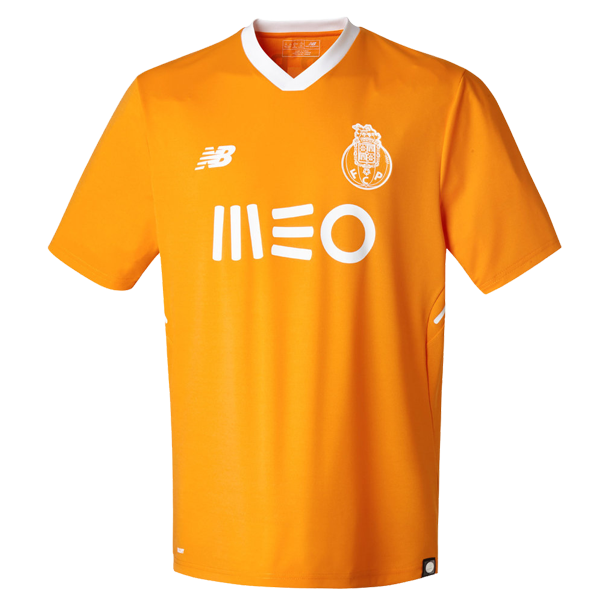 01261e382bc FC Porto Away Soccer Jersey 17 18 This is the FC Porto Away Football Shirt  17 18. The new Porto 2017-2018 away jersey boasts a striking Flame orange  color ...