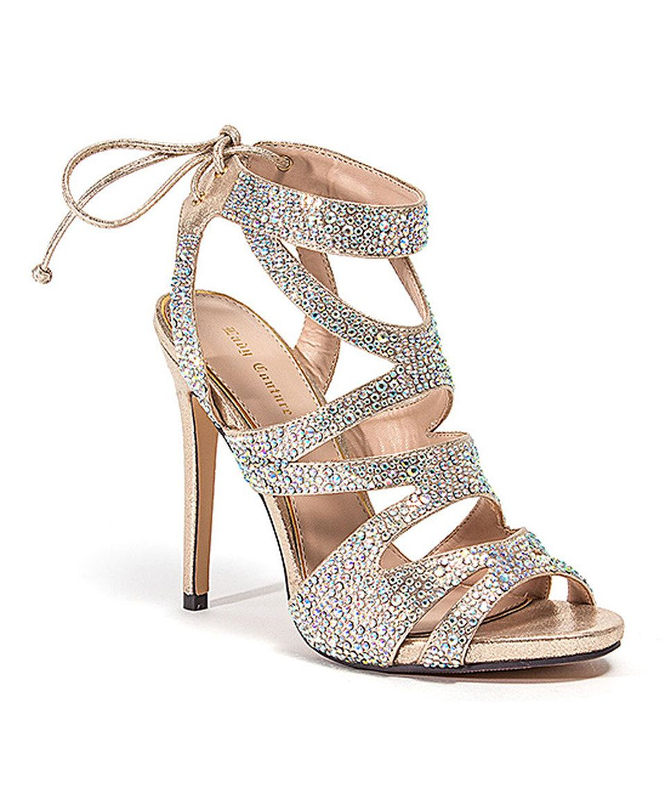 Another great find on #zulily! Lady Couture Champagne Babe Pump by Lady Couture #zulilyfinds