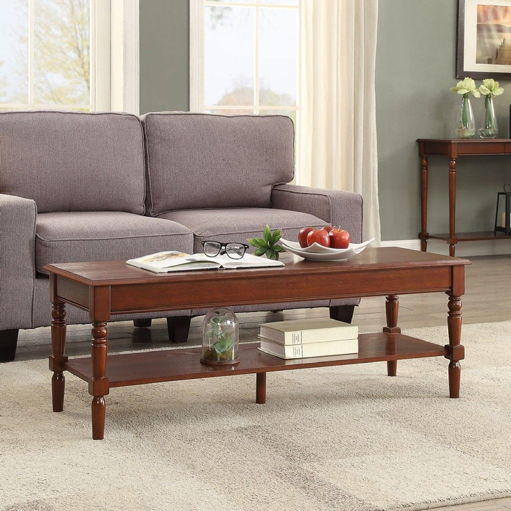French Country Coffee Table - Convenience Concepts ...
