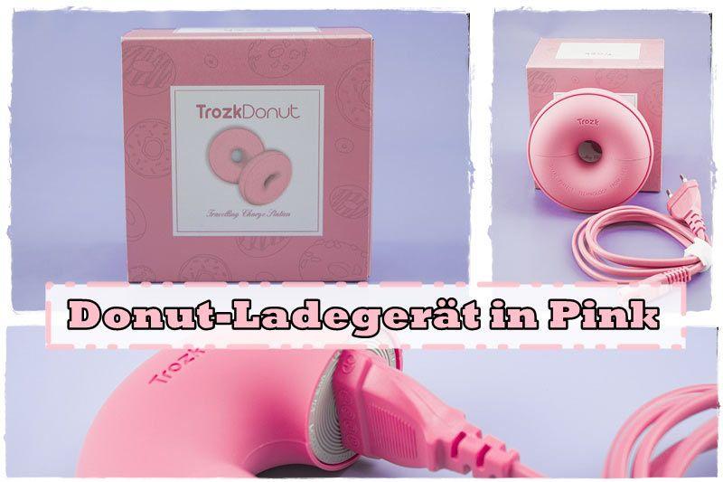 Donut-Ladegerät in Pink   Milool reiseadapter   Susi und Kay Projekte  Ein #Ladegerät brauchen wir doch alle, ich stelle euch eins in #Donut Form vor in #Pink. (Der Beitrag könnte rechtlich gesehen Werbung enthalten)