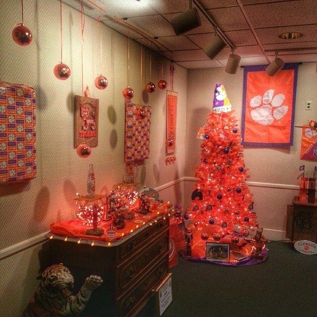 Clemson Christmas Tree: 25 Of The Orangey-Ist Orange Things