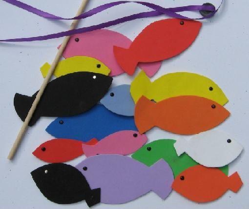 Como hacer peces en foami para ni os manualidades de for Como hacer una granja de peces