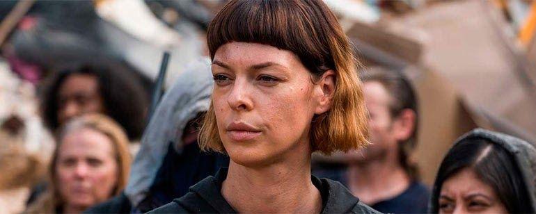 The Walking Dead': Pollyanna McIntosh habla del avión que se coló en ...