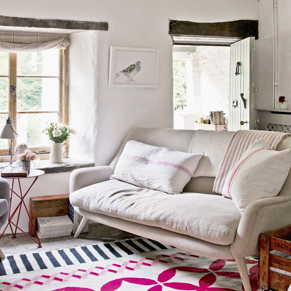 Alwinton Corner Sofa Handmade Fabric | Cosy, Small living rooms and ...